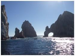 Arch in the rock, Cabo San Lucas