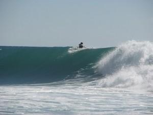 Surfing at Cabo san Lucas
